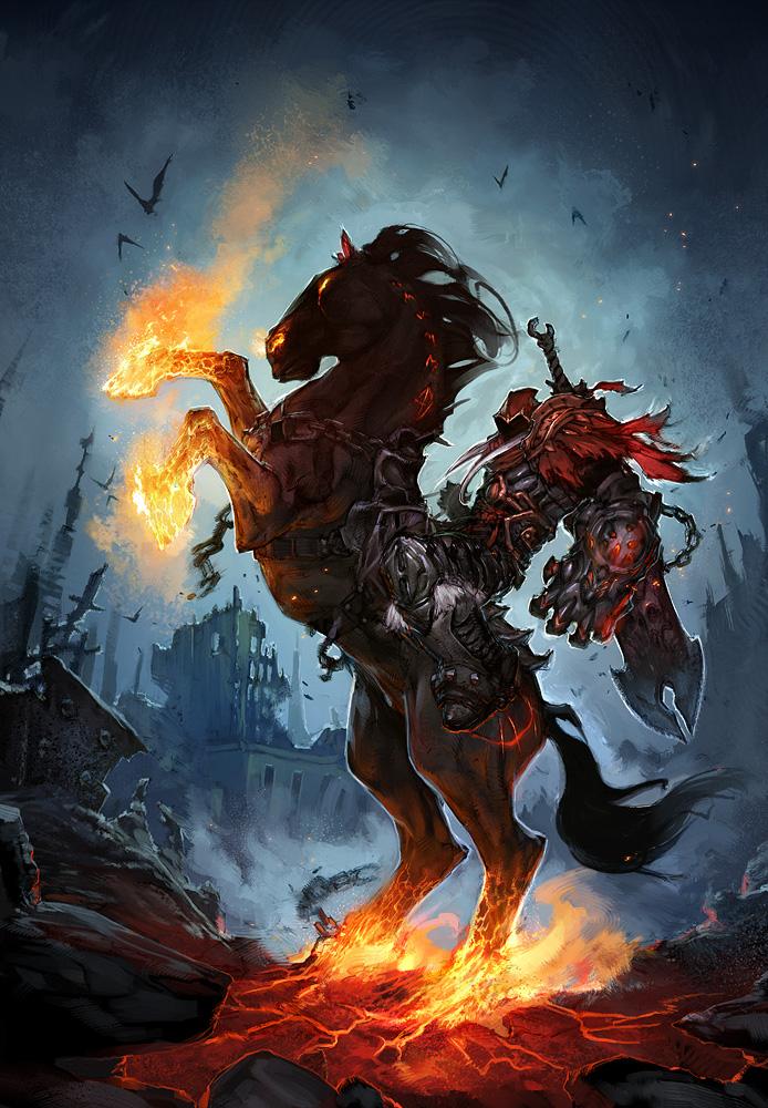 Four Horsemen War Darksiders: Concept Ar...