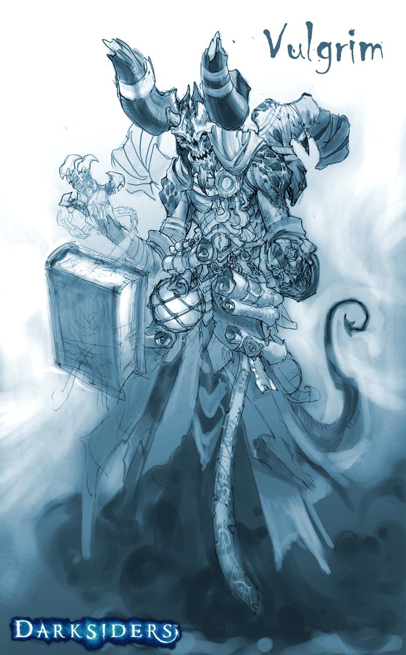 Darksiders: Concept Art | Hex, Lies & Videogames  Darksiders: Con...